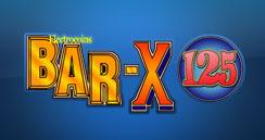 Bar X 125 Online Spielautomat