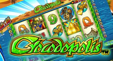 Crocodopolis Spielautomat