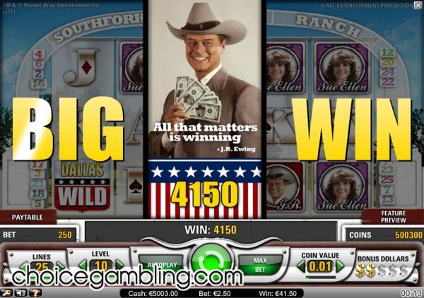 Dallas Online Spielautomat